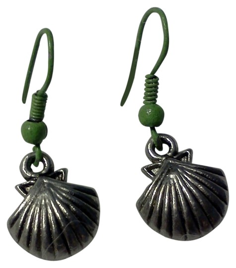 Preload https://item5.tradesy.com/images/antique-silver-tone-green-new-never-worn-hook-style-shell-made-by-me-earrings-4029709-0-0.jpg?width=440&height=440