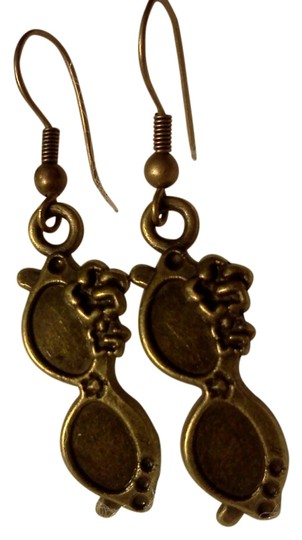 Other New never worn, sunglasses on hook style earrings, made by Me
