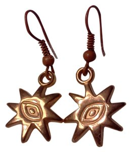 Other New never worn, a danghling sun on hook style earrings, made by Me