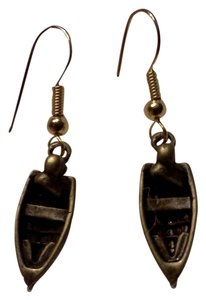 New never worn, a danghling boat on hook style earrings, made by Me