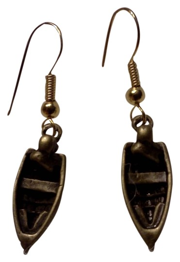 Other New never worn, a danghling boat on hook style earrings, made by Me