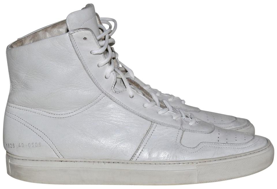 a45eb8e5600 Common Projects White Bball High Top Basketball Sneakers Mens Uk 9 Euro 43  Sneakers Size US 10 Regular (M, B) 60% off retail