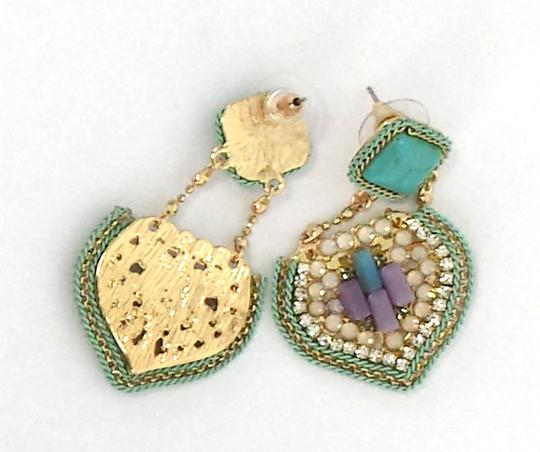 Other Turquoise & Multi-Color Chandelier Drop Earrings
