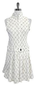 Chanel short dress Tweed Sleeveless Drop Waist on Tradesy