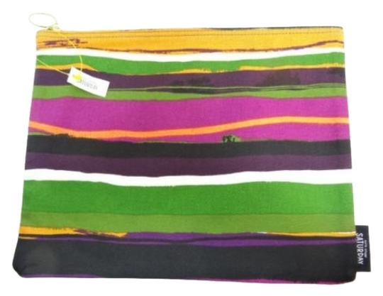 Kate Spade Kate Spade Saturday Sunset Stripe Zippered Pouch NEW WITH TAGS