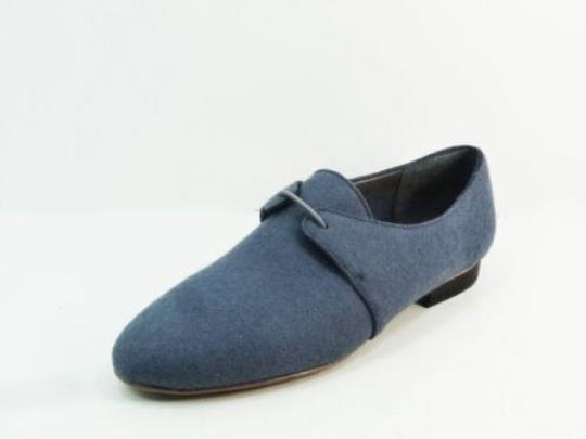 Kate Spade Saturday Steel Slip On Oxford New Size 7 Blue Flats