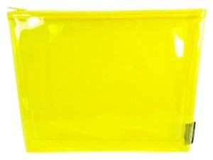 Kate Spade Kate Spade Saturday Clear Yellow Pouch NEW
