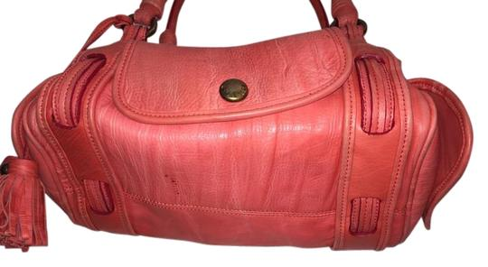Preload https://item2.tradesy.com/images/marc-jacobs-salmon-pink-leather-satchel-4030666-0-2.jpg?width=440&height=440