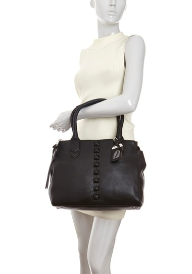 Other Leather Satchel Black Clutch
