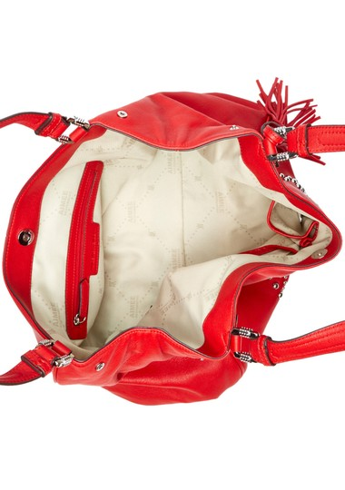 Other Dual Top Handles Red Clutch