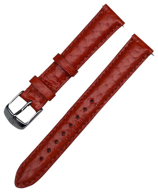 Item - Orange 16mm Leather Band Watch