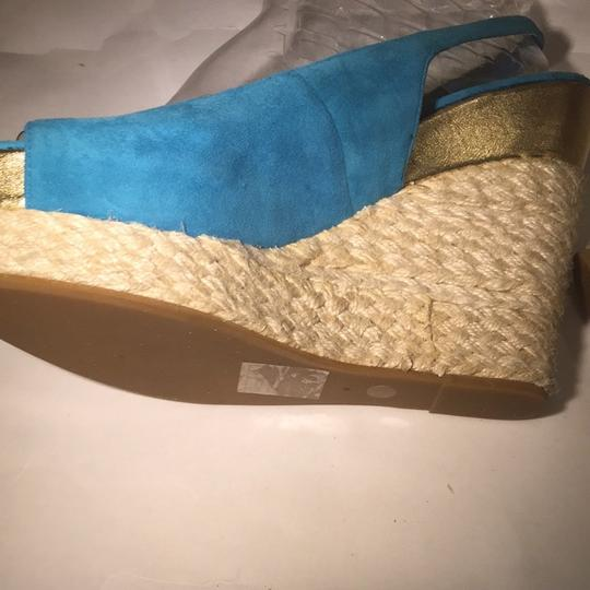 Dolce Vita Turquoise Mules