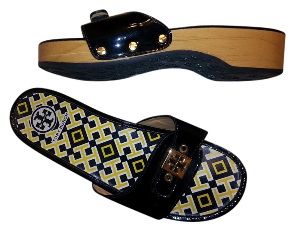Ladies Tory shopping Burch Black Dixon Mules/Slides shopping Tory online f66d52