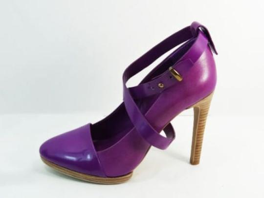 Kate Spade Saturday 3 In 1 Heel High Heels Leather Violet Size 7 New purple Pumps