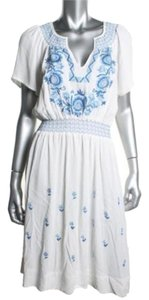 MADE Fashion Week for Impulse short dress Blue White on Tradesy
