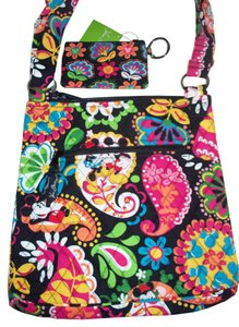 bbc9d24142 Vera Bradley Disney Minnie Hipster Id Case Quilted Purse Chrisstmas  Vacation Travel Mouse Paisley Wallet Cross