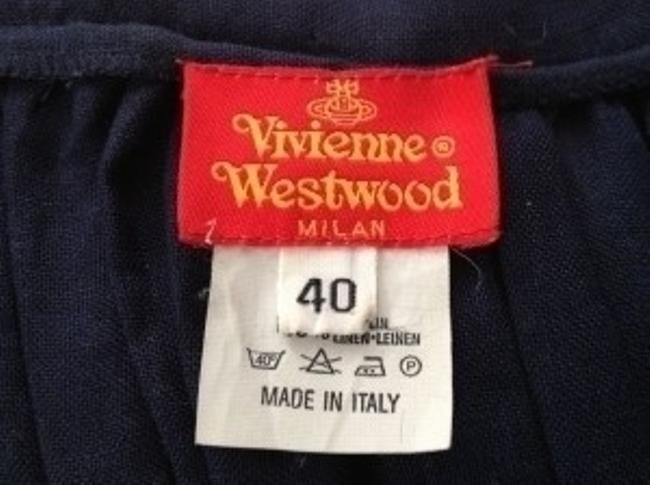 Vivienne Westwood short dress Navy on Tradesy