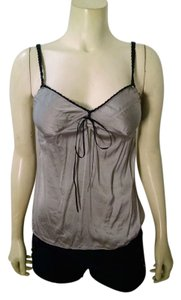 Express Silk Size X-small Gray P1476 Top gray, black