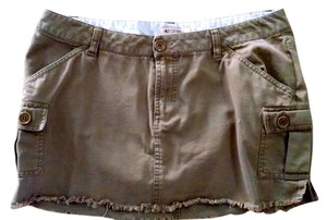 O'Neill Oneill Size 7 Mini Skirt brown