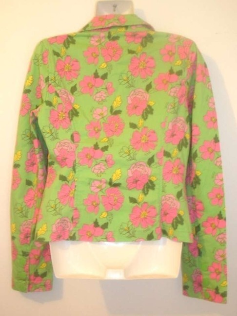 Tommy Jeans by Tommy Hilfiger Floral Green Jacket