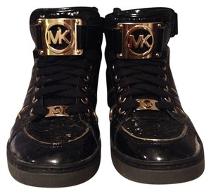 Michael Kors Black Python Athletic
