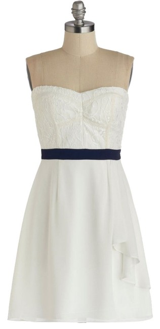 Preload https://item2.tradesy.com/images/modcloth-nautical-strapless-dress-white-dark-navy-4033156-0-0.jpg?width=400&height=650
