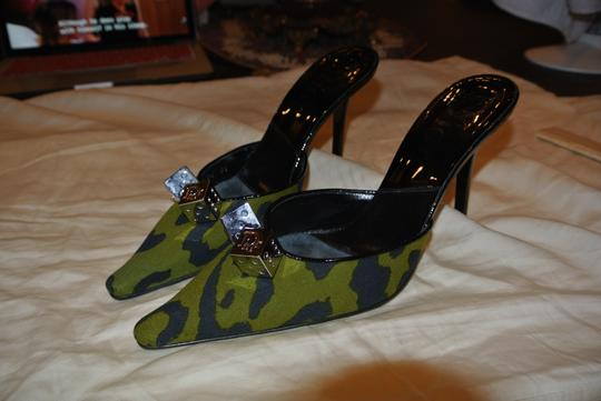 Dior Green/Black Pumps