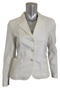 Ralph Lauren Textured Lightweight Jacket White Blazer