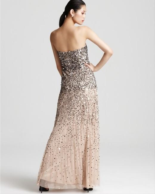 Adrianna Papell Sequin Strapless Special Occasions Prom Prom Dress