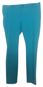 INC International Concepts Blue Stretch Pants