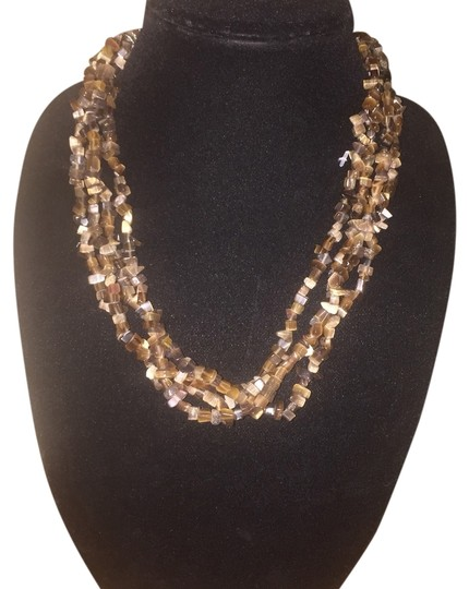 Preload https://item3.tradesy.com/images/brown-stone-multi-strand-necklace-4034137-0-0.jpg?width=440&height=440