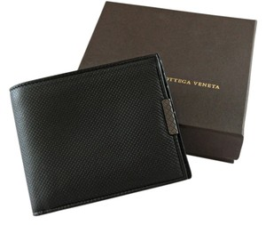 Bottega Veneta Bottega Veneta Black Leather Men's Wallet