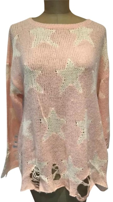 Preload https://item1.tradesy.com/images/wildfox-pink-lenon-sweaterpullover-size-8-m-4034470-0-3.jpg?width=400&height=650