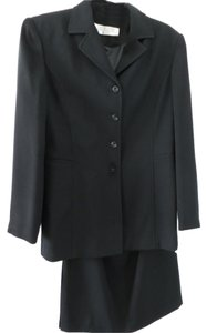 Larry Levine Classic Black Larry Levine Skirt Suit