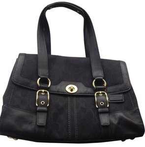 Coach Satchel in black