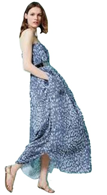 Blue Multi Maxi Dress by L'AGENCE