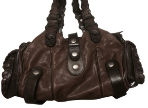 Chloé Chloe Silverado Leather Satchel in Brown