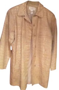 Liz Claiborne Trench Tan Car Trench Coat
