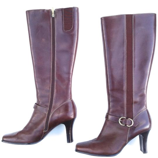 AK Anne Klein Leather brown Boots