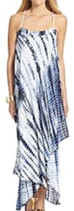 Blue & White Maxi Dress by Michael Kors
