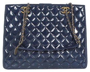 Chanel Shopping Large Tote in Blue