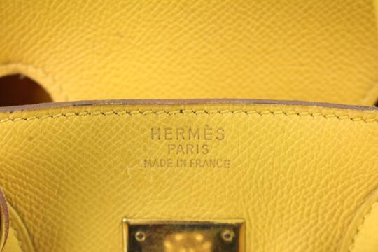 Hermès Satchel in Yellow