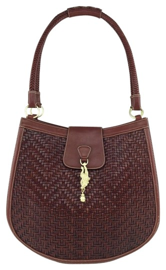 Preload https://item2.tradesy.com/images/barry-kieselstein-cord-woven-brown-leather-shoulder-bag-4035721-0-0.jpg?width=440&height=440