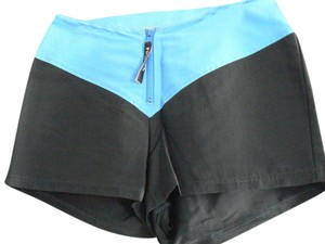 Nautica Blue Color-block Board Shorts Light/Dark Blue