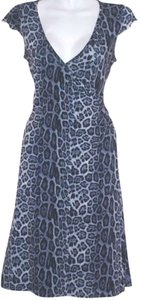 Velvet Torch Bodycon Animal Print Leopard Dress
