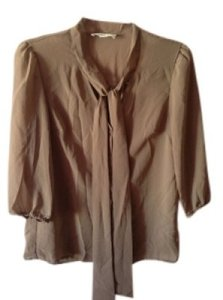 Forever 21 Top Dark Beige