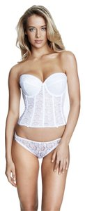 Dominique Dominique Lace Longline Bridal Bra 7749 White Size D