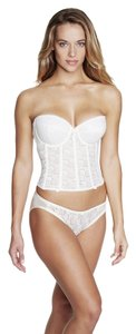 Dominique Dominique Lace Longline Bridal Bra 7749 Ivory Size B