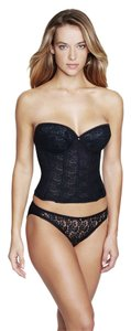 Dominique Dominique Lace Longline Bridal Bra 7749 Black Size D
