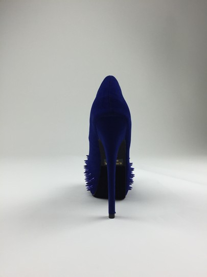 Styluxe Heels Pumps Blue Platforms